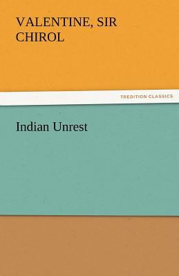 Indian Unrest  N/A 9783842481411 Front Cover