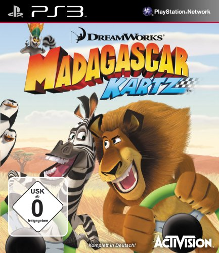 Madagascar Kartz PlayStation 3 artwork