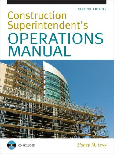 Construction Superintendent's Operations Manual  2nd 2008 edition cover