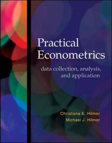 Practical Econometrics Data Collection, Analysis, and Application  2014 edition cover