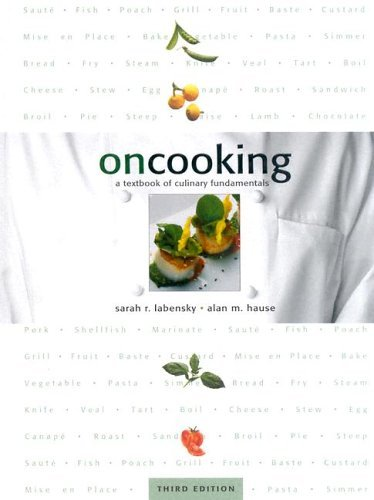 On Cooking A Textbook of Culinary Fundamentals 3rd 2003 edition cover