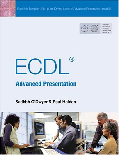 Ecdl Advanced Presentation:   2004 edition cover