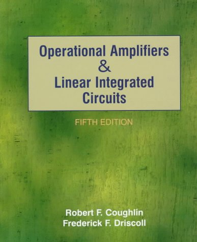 Operational Amplifiers and Linear Intergrated Circuits  5th 1998 9780132065412 Front Cover