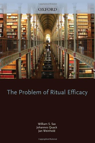 Problem of Ritual Efficacy   2010 9780195394412 Front Cover