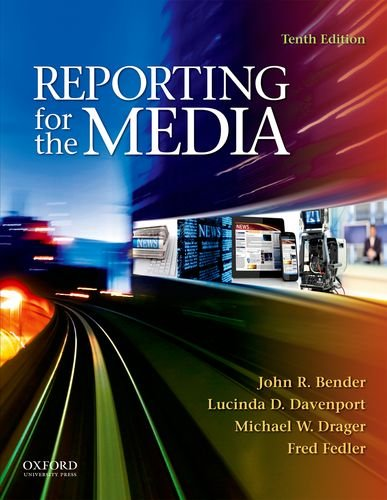 Reporting for the Media  10th 2012 edition cover