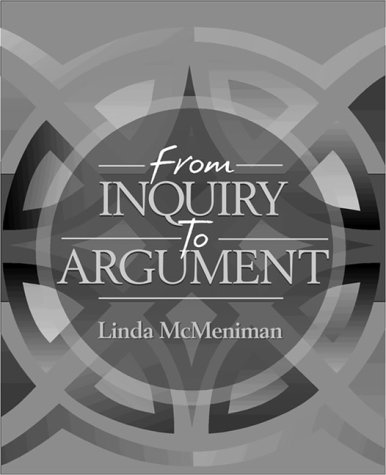 From Inquiry to Argument  1st 1999 edition cover