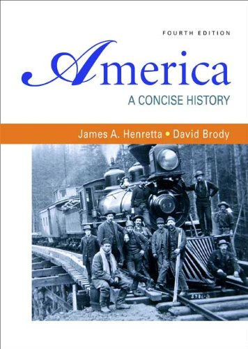 America A Concise History 4th 2009 edition cover