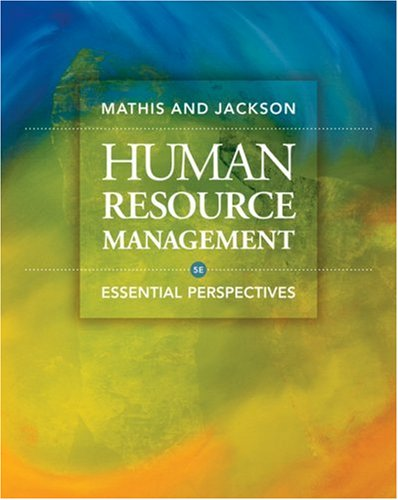 Human Resource Management Essential Perspectives 5th 2009 edition cover