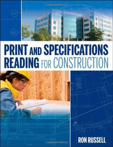 Print and Specifications Reading for Construction   2011 edition cover