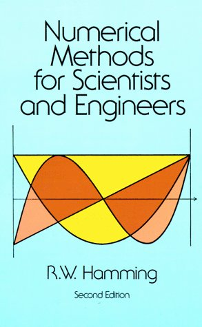 Numerical Methods for Scientists and Engineers  2nd (Reprint) edition cover