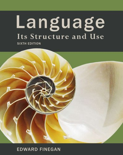 Language Its Structure and Use 6th 2012 edition cover