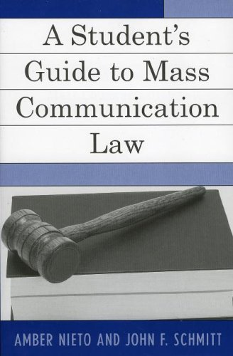 Mass Communication and Law   2005 (Student Manual, Study Guide, etc.) edition cover