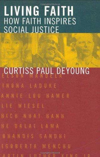 Living Faith How Faith Inspires Social Justice  2007 (Annotated) edition cover