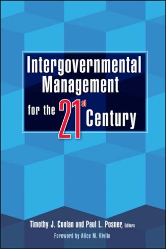 Intergovernmental Management for the 21st Century   2008 edition cover
