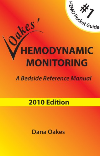 Hemodynamic Monitoring: A Bedside Reference Manual  2010 edition cover