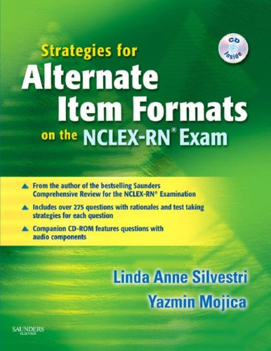 Strategies for Alternate Item Formats on the NCLEX-RN Exam   2007 edition cover