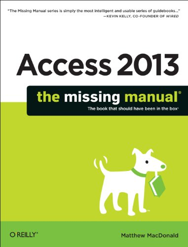 Access 2013   2013 edition cover