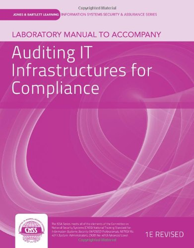 Auditing IT Infrastructures for Compliance   2013 edition cover