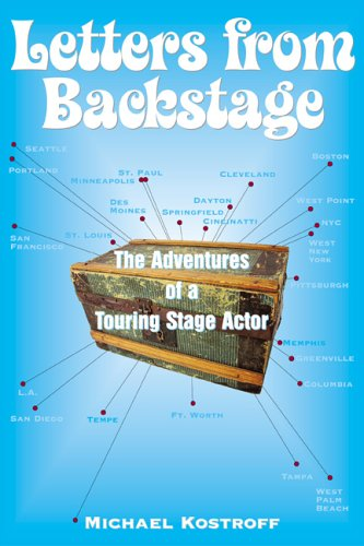 Letters from Backstage The Adventures of a Touring Stage Actor  2005 edition cover