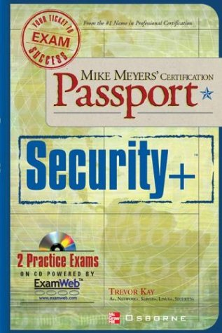 Mike Meyers' Security+ Certification Passport   2003 9780072227413 Front Cover