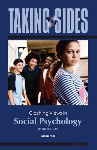 Clashing Views in Social Psychology  3rd 2010 edition cover