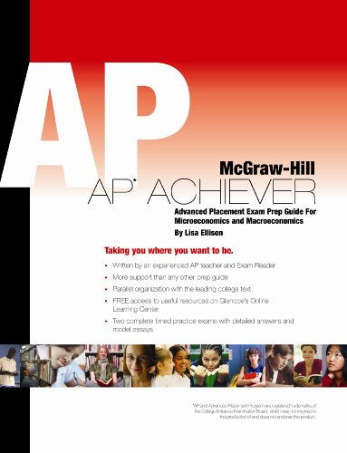 Economics, AP Achiever Test Prep  18th 2009 9780078928413 Front Cover