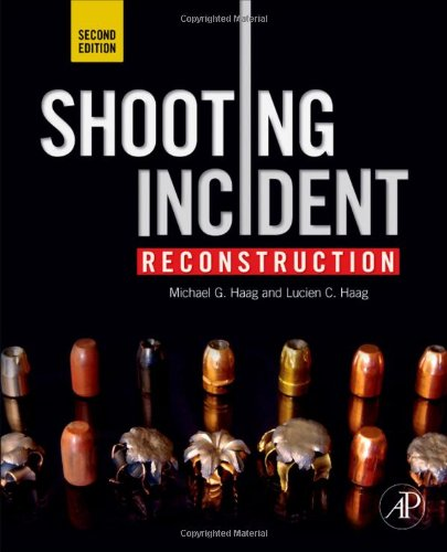 Shooting Incident Reconstruction  2nd 2011 edition cover
