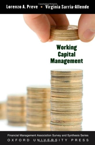 Working Capital Management   2010 edition cover