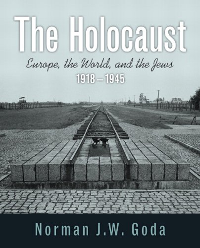 Holocaust Europe, the World, and the Jews, 1918-1945  2013 edition cover