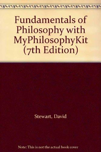 Fundamntls of philosophy&myphilosophykit Pk  7th 2010 9780205779413 Front Cover