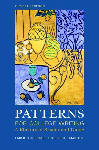 Patterns for College Writing A Rhetorical Reader and Guide 11th 2009 edition cover