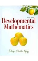 Developmental Mathematics  2nd 2011 9780321624413 Front Cover