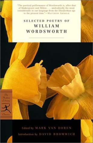 Selected Poetry of William Wordsworth   2002 edition cover