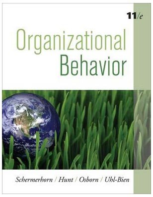 Organizational Behavior  11th 2010 edition cover