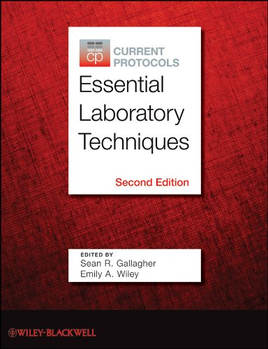 Current Protocols Essential Laboratory Techniques  2nd 2012 edition cover