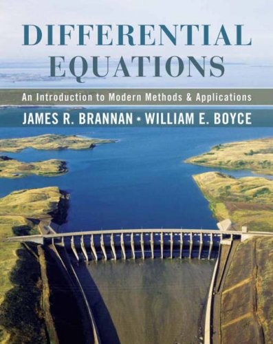 Differential Equations An Introduction to Modern Methods and Applications 11th 2007 edition cover