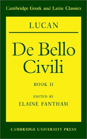 Lucan De Bello Civili  1992 9780521422413 Front Cover
