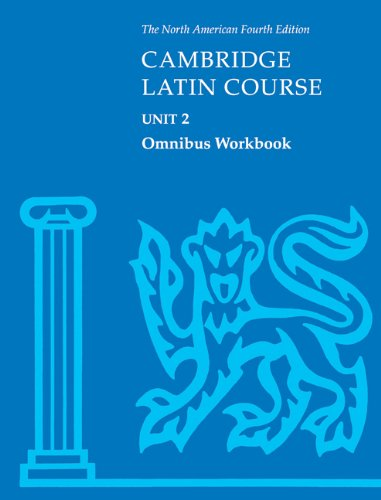 Cambridge Latin Course - Unit 2  4th 2001 (Revised) edition cover