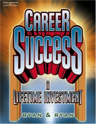 Career Success A Lifetime Investment  2001 edition cover