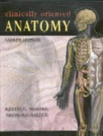 Clinically Oriented Anatomy  4th 1999 (Revised) 9780683061413 Front Cover