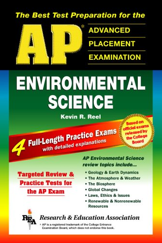 Best Test Preparation for the AP Environmental Science  N/A 9780738600413 Front Cover