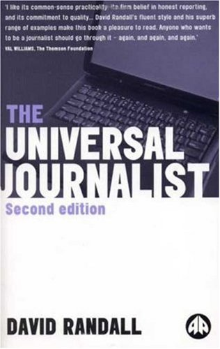 Universal Journalist  2nd 2000 9780745316413 Front Cover