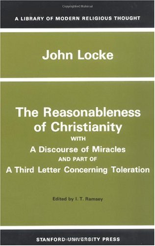 Reasonableness of Christianity, and a Discourse of Miracles   1958 edition cover