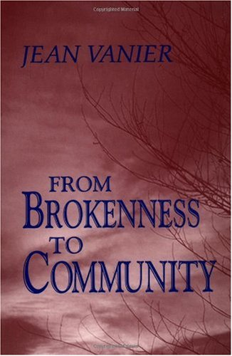 From Brokenness to Community  N/A edition cover