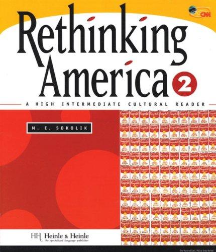 Rethinking America 2 A High Intermediate Cultural Reader  1999 edition cover