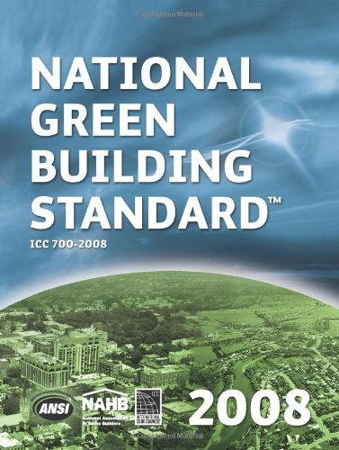 National Green Building Standard   2009 9780867186413 Front Cover