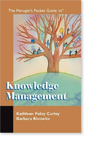 Manager's Pocket Guide to Knowledge Management   2001 edition cover