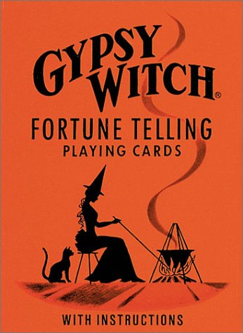 Gypsy Witch Fortune-Telling Cards N/A 9780880790413 Front Cover