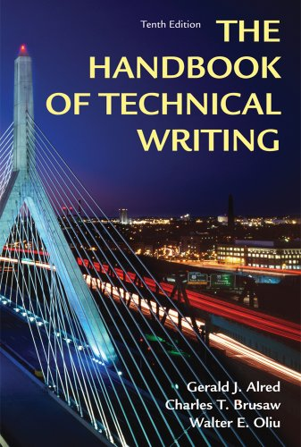 Handbook of Technical Writing  10th 2012 (Revised) edition cover