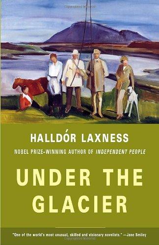 Under the Glacier   2004 edition cover